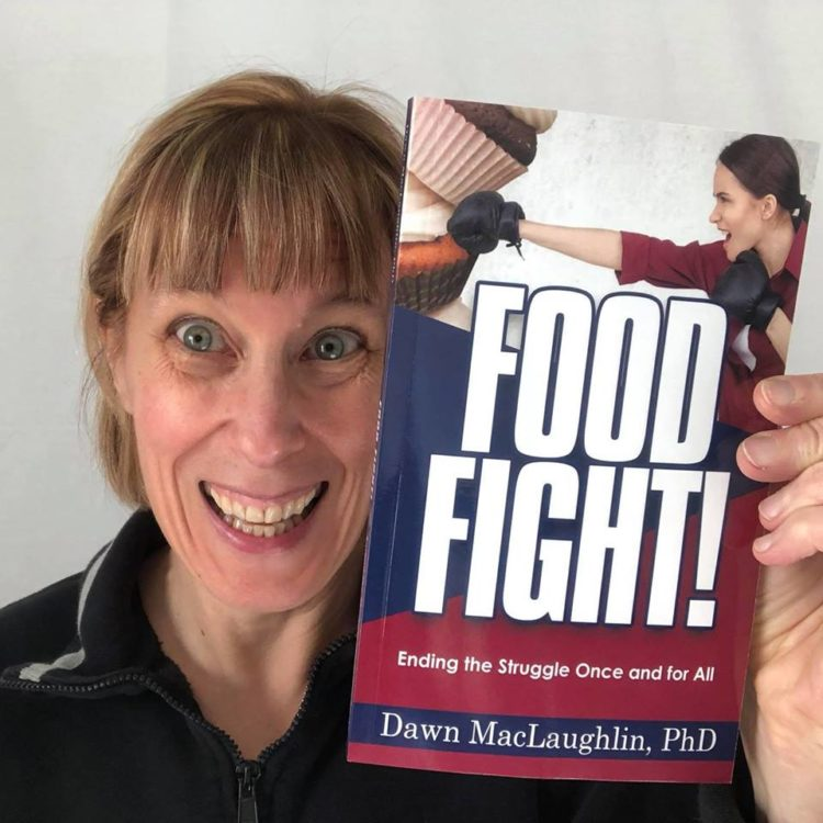 "I am so excited to be able to share this news. My book ""Food Fight: Ending the Struggle Once a"