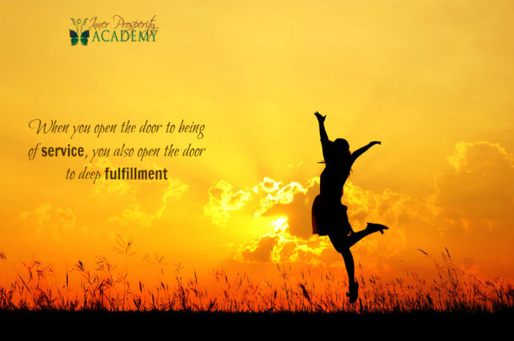 When you open the door to being of service, you also open the door to deep fulfillment 205.-When-you