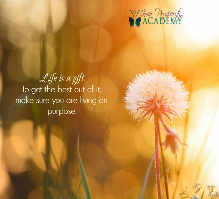 Life is a gift…To get the best out of it, make sure you are living on purpose 207.-Life-is-a-g
