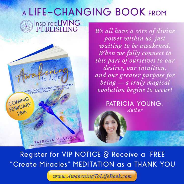 """Check out WU World-Changer, @patriciayoung! She's releasing her new book """"Awakening to Life: You"""