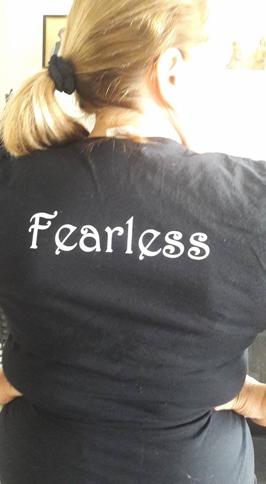 She Is… 'Fearless'! Thank you, Maureen Richards Spataro, for creating this safe pl