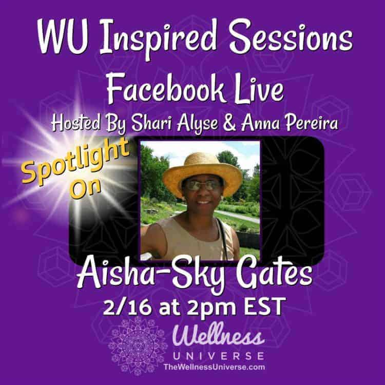 REMINDER: We are LIVE TODAY at 2pm EST! Meet WU World-Changer, @Aisha-SkyGates this week on WU Inspi
