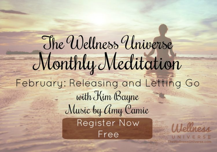 Free Guided Meditation Live 7:55 EST. Focus: Release & Let Go of what does not serve you. It&#82