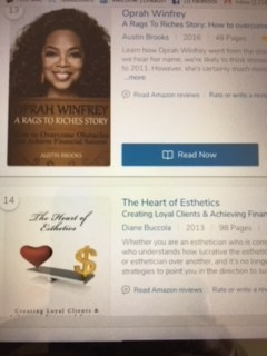 Not only was it a WONDERFUL surprise to learn that one of my books (The Heart of Esthetics: Creating