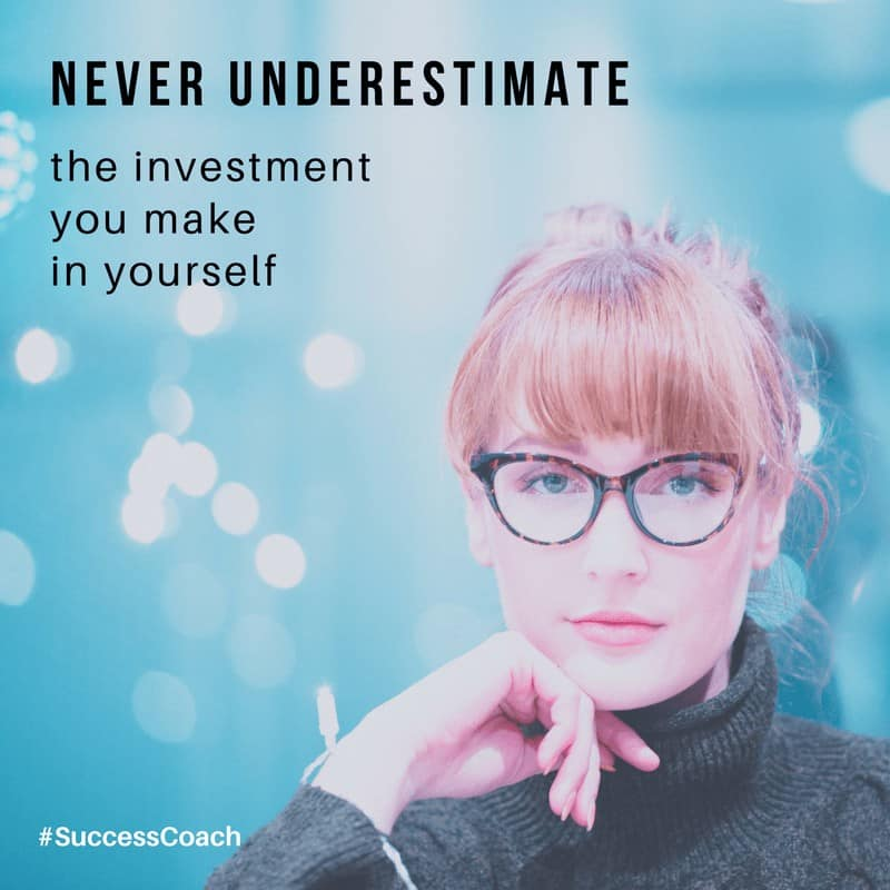 ** Want to make an investment you'll never regret? Invest in yourself. Whether you decide to learn