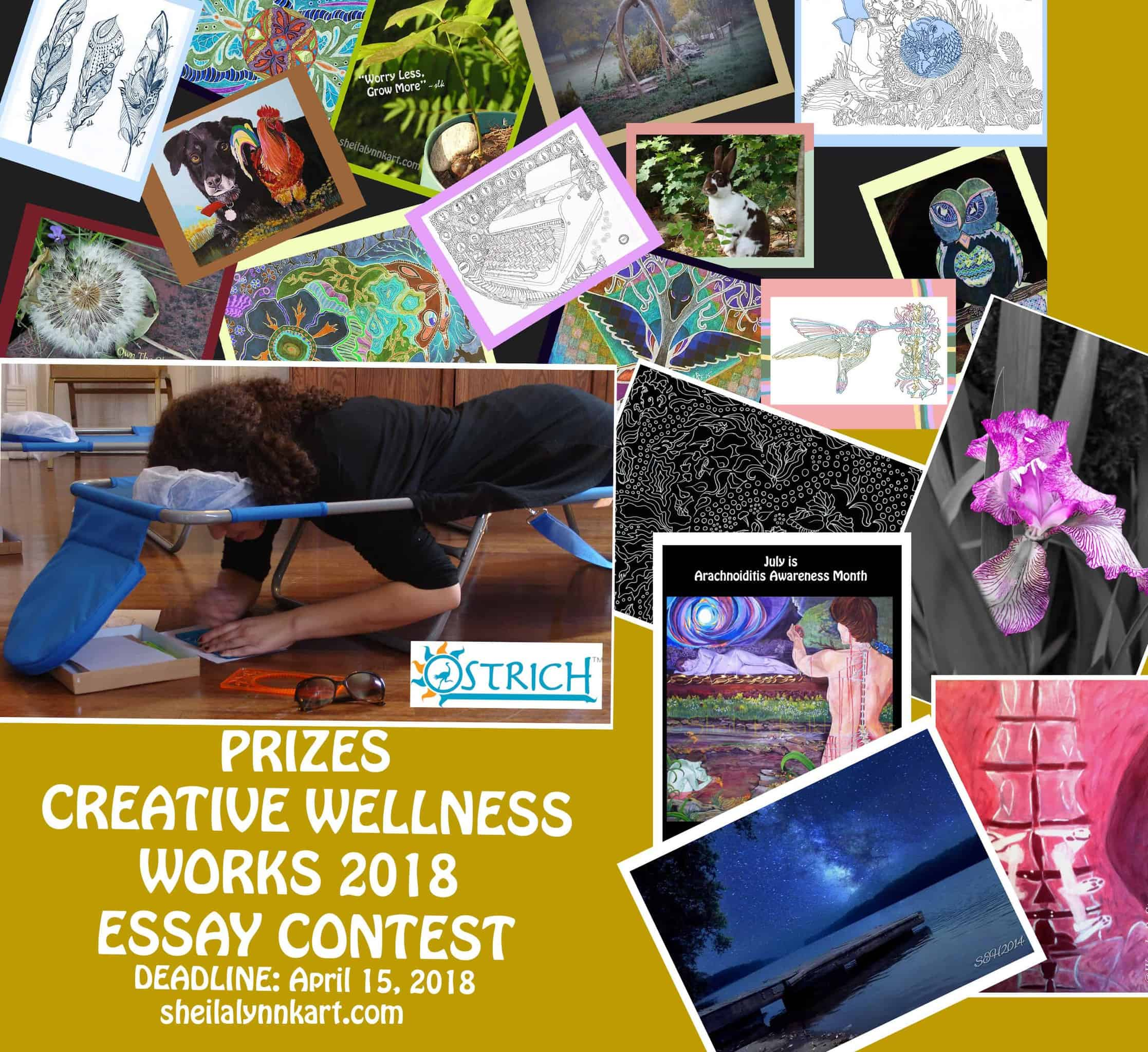 How do you get creative in your pursuit of wellness? Tell us about it for a chance to win prizes. Pr