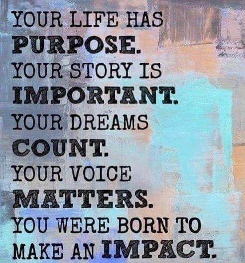 What impact have you been making? You know you have a purpose and story to share. Let your voice be