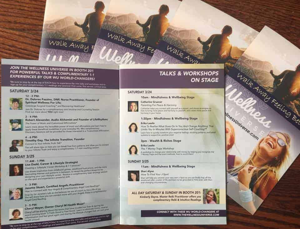 Super excited to be participating in The Best You Expo 3/24-25! Just picked up our magazine handout