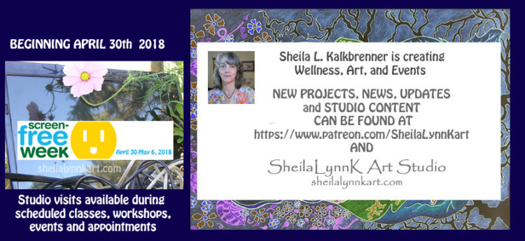 FOR WELLNESS SAKE ~ SPRINGING INTO SIMPLICITY Beginning April 16th 2018, inspired by my own #ScreenF