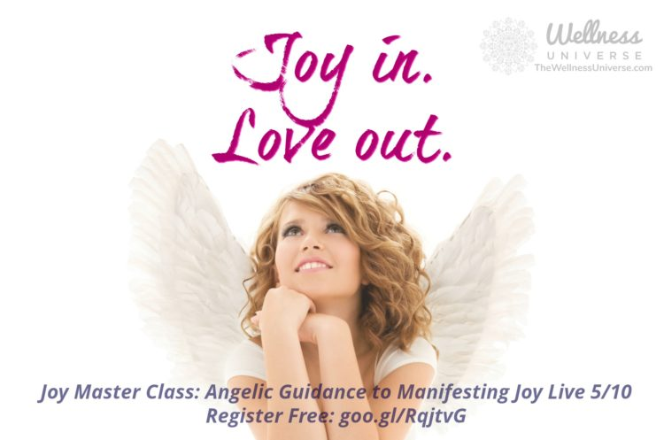 A master class on Joy! Let's celebrate a wonderful life together this will be a peace and joy