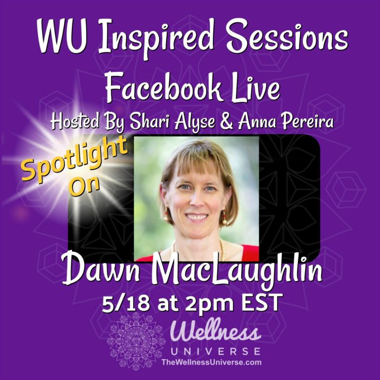 Join us for a LIVE chat with WU World-Changer and Food Freedom Coach, Dawn MacLaughlin who will shar