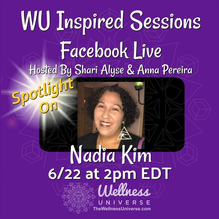 Starting in 15 minutes! Join us for a chance to win a free 30 minute Sacred Soul Alignment Session!