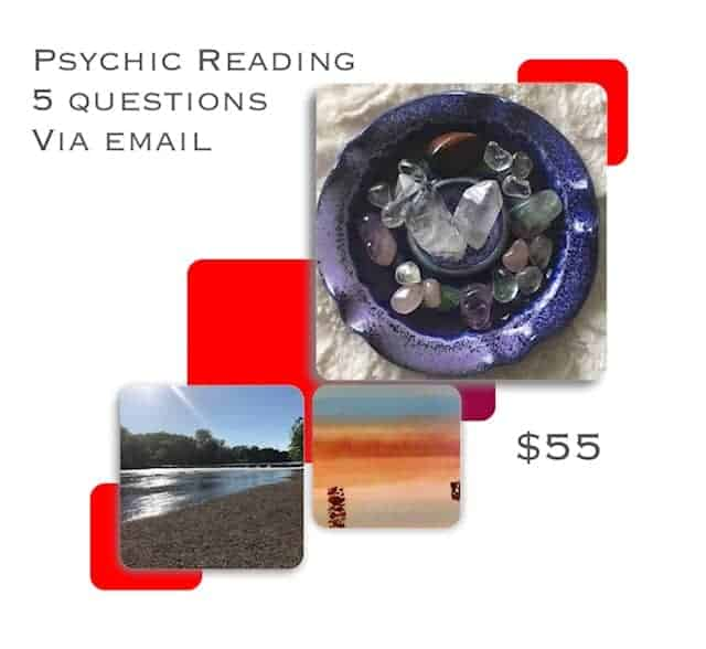 I offer crystal readings. Would you like intuitive direction for things going on in your life? My gr