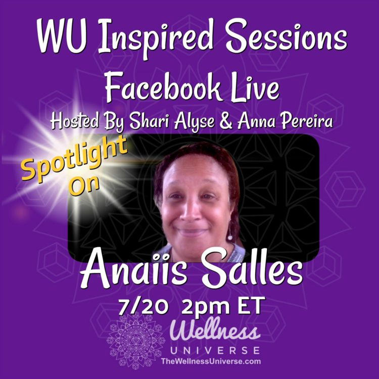 REMINDER: On tomorrow's WU Inspired Sessions, we will be chatting with WU World Changer, Anaii