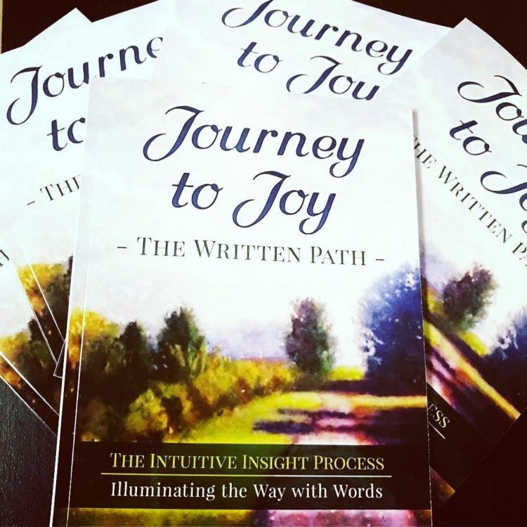 "CELEBRATING! One year ago my book ""Journey to Joy – The Written Path"" was released! To cel"
