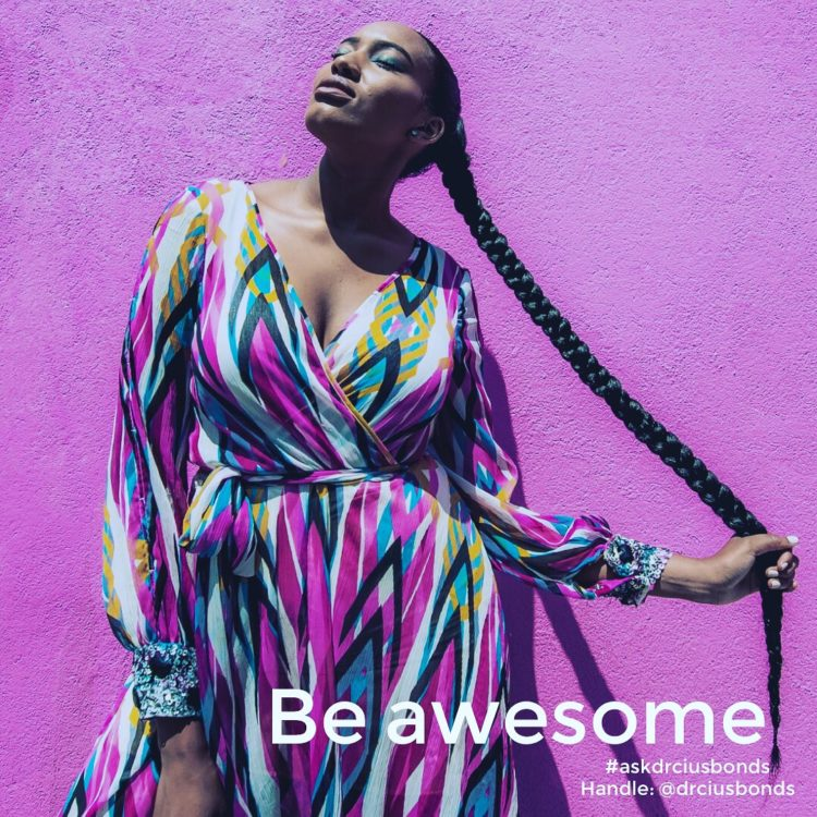 No matter what you're working on, do it with all you've got. Be awesome. #askdrciusbonds 926A39C