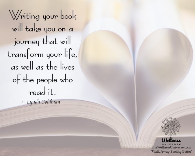 Writing your book will take you on a journey that will transform your life, as well as the lives of
