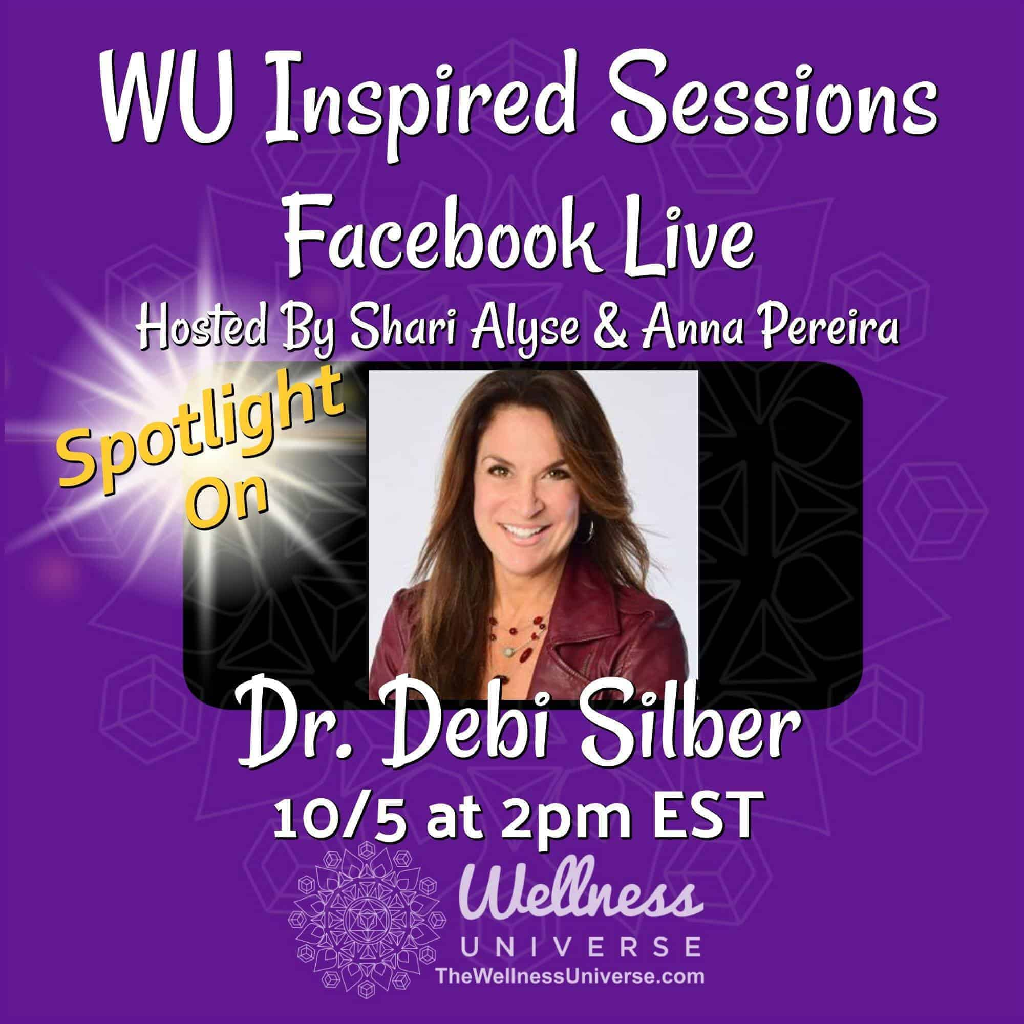 Are you dealing with the symptoms of Post Betrayal Syndrome? Come meet, Dr. Debi Silber, transformat