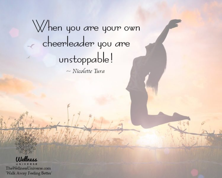 When you are your own cheerleader you are unstoppable! ~@NicoletteTura #WUWorldchanger Excerpt from