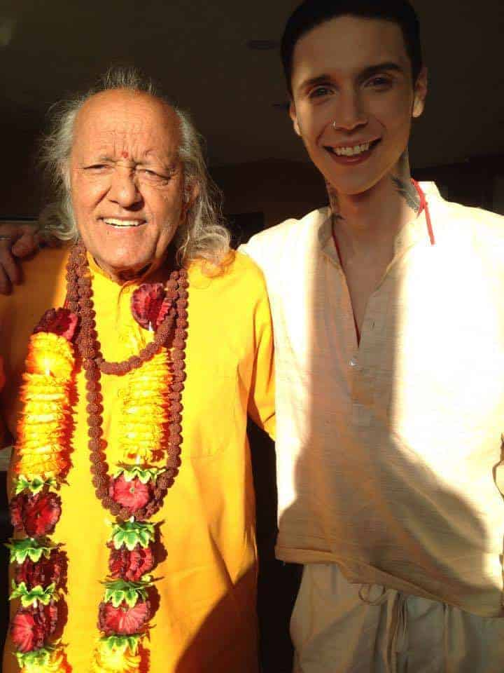 Guru yogi Ramesh as a Laughing yoga Guru in his new film American Satan in Hollywood. Watch and be h