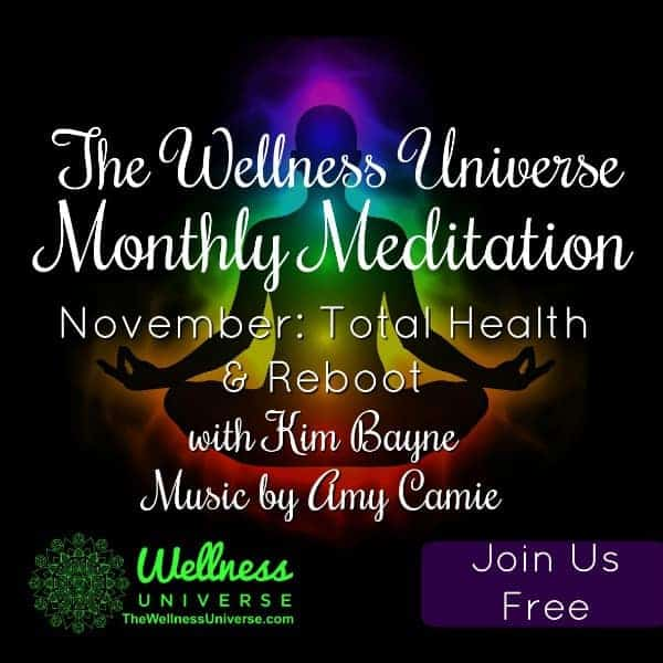 November Live Guided Meditation begins in an hour (Log in 7:58 am EST) Register free here: https://w