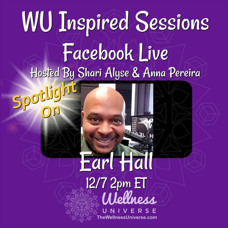 You all do not want to miss today's interview with the inspiring @earlhall who is going to sha
