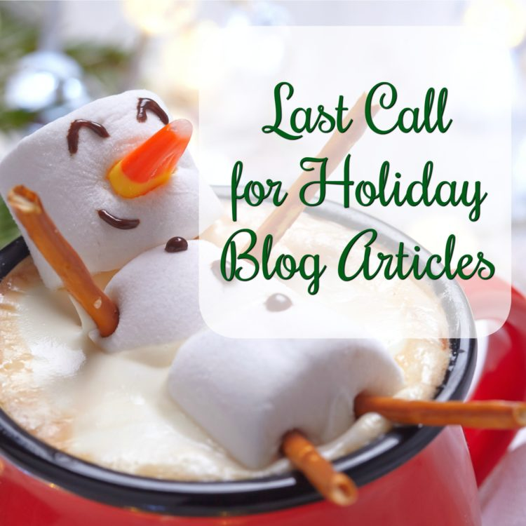 Get your holiday themed article in. Here is how to get published on the WU Featured Blog & loads