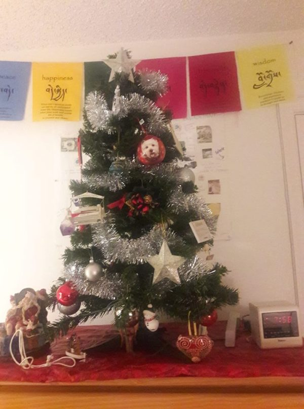 Happy Holidays! Health, abundance and happiness. A pic of my Xmas tree and childhood memories with m