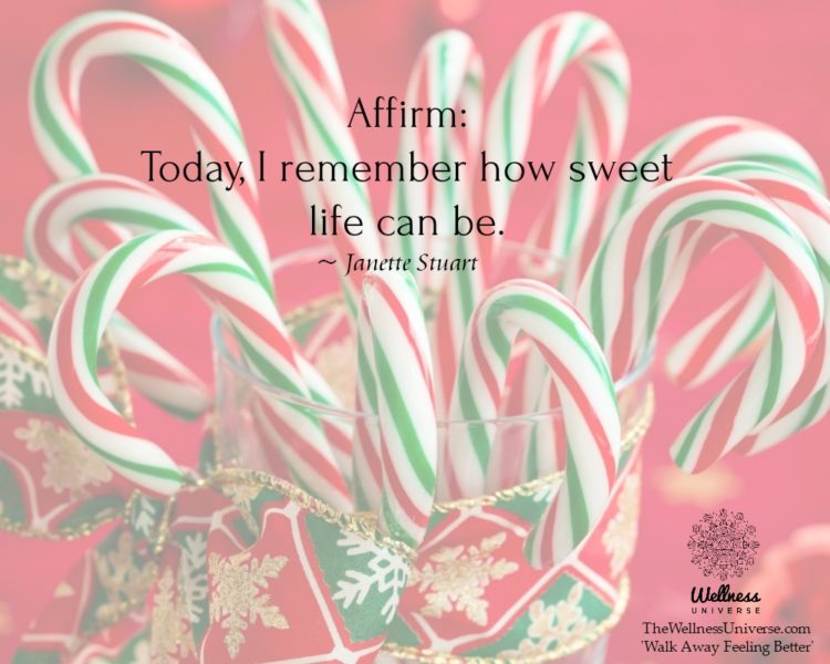 Affirm: Today, I remember how sweet life can be. ~@JanetteStuart #WUWorldChanger Excerpt from: https