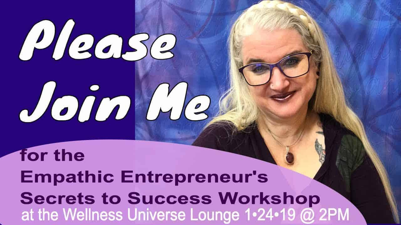 I am getting so excited for my WU Expert Workshop on January 24th 2019 at 2PM Eastern Time. I record