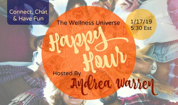 It's time for WU Happy Hour!!! Join World-Changer @andreawarren as she hosts an online social gath
