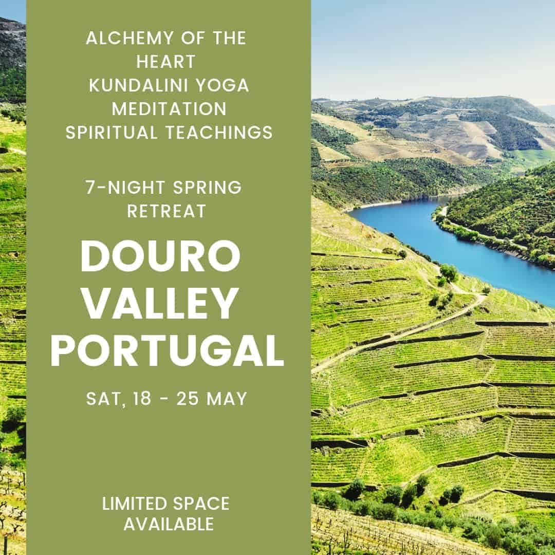 I'm hosting a 7-night Spring Retreat in the gorgeous Douro Valley. Experience 7 empowering day