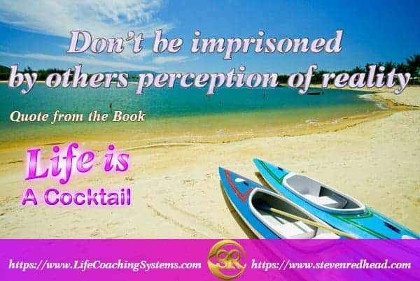 Don't be imprisoned by others perception of reality. #SimplyAGame #SolutionsUnlocked #AwakeningYou