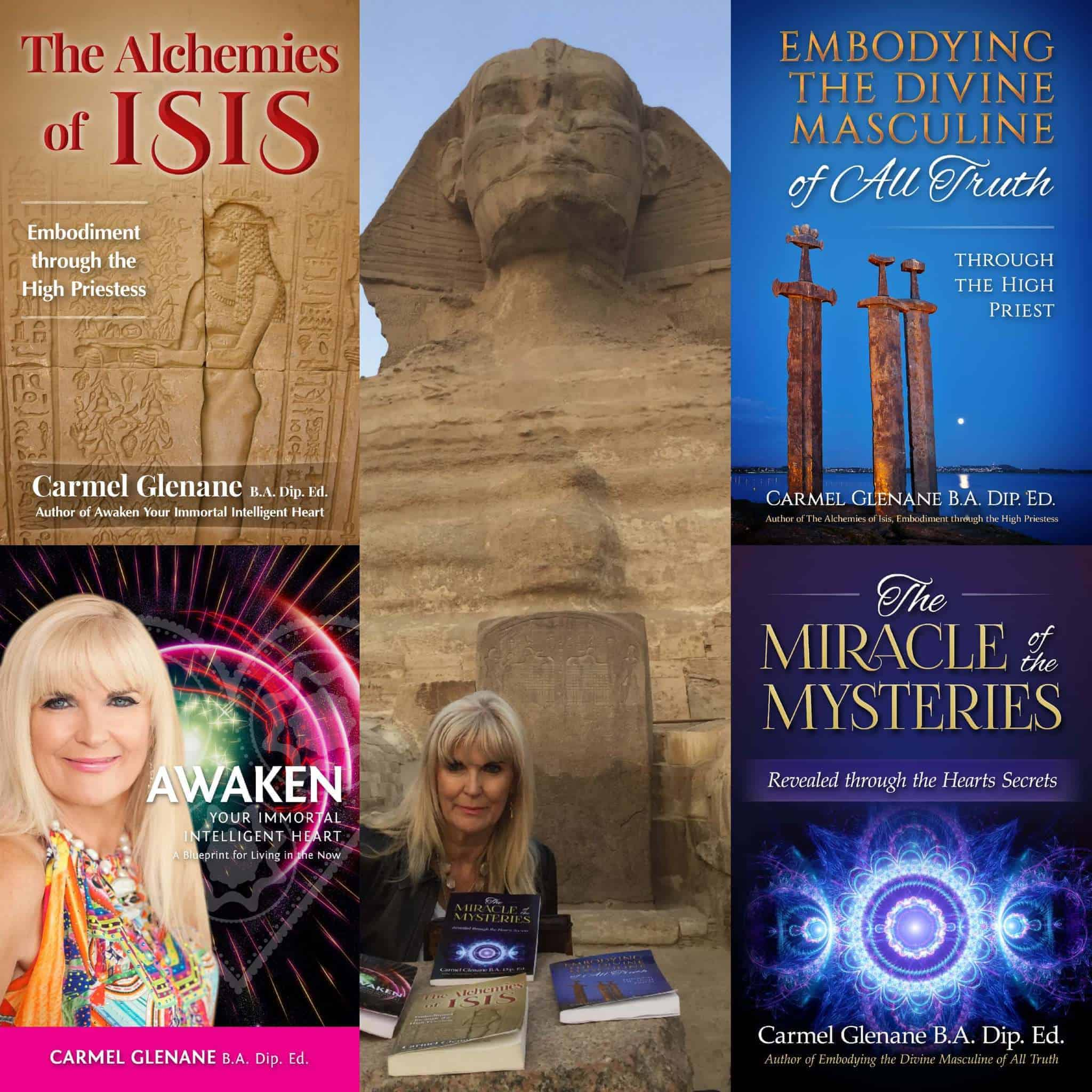 Mystery School Ascension Training programmes available. Heart Activation Training program and Egypt