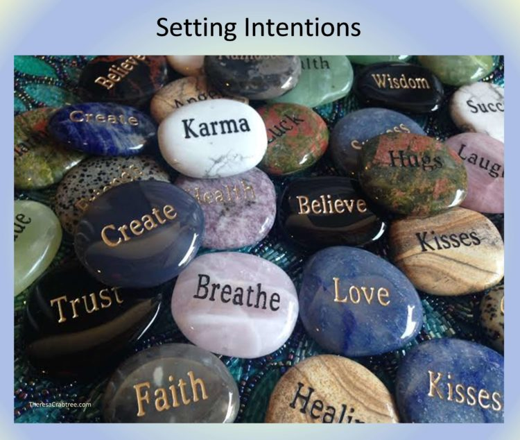 SOUL CONNECTION 89 ~ SETTING INTENTIONS The following are steps to setting your intentions. 1. Clear