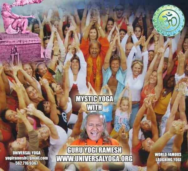 LOL To BE WELL with Guru Yogi Ramesh.Time to open your heart of the Lord and Laugh off your stress i