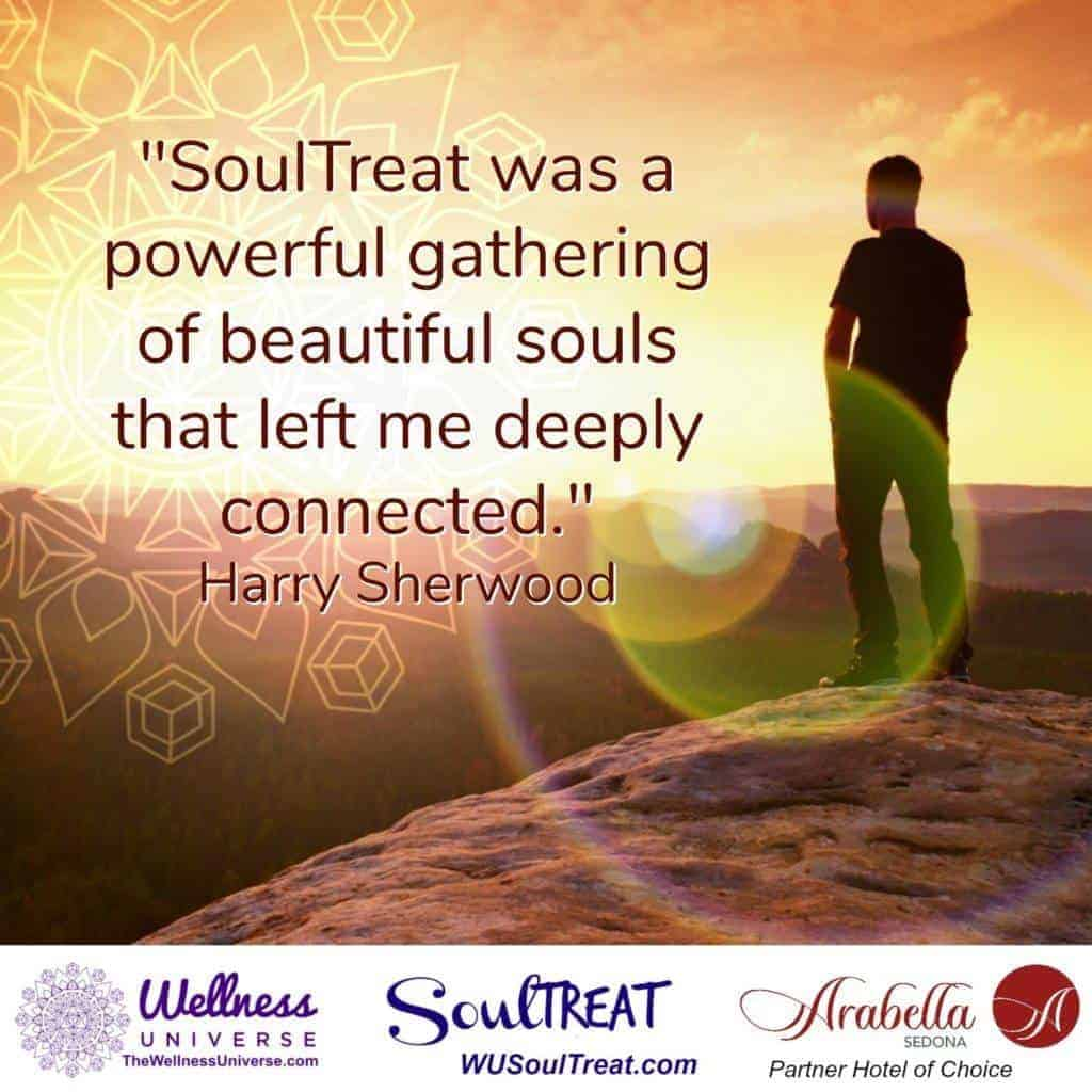 """SoulTreat was a powerful gathering of beautiful souls that left me deeply connected."" ~"