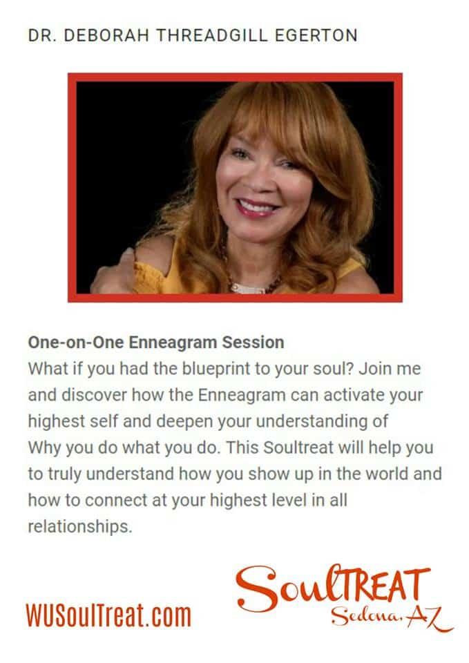 Please meet featured experience provider Dr. @deborahthreadgillegerton at SoulTreat Fair! Deborah wi