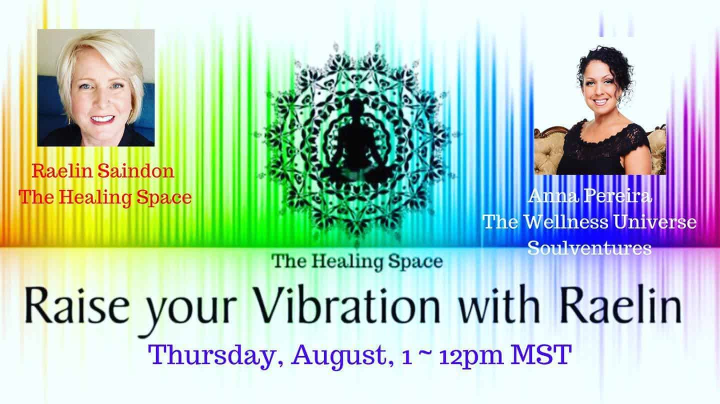 Join us on 'Raising Your Vibration with Raelin' @raelinsaindon! I have a BIG SURPRISE! S