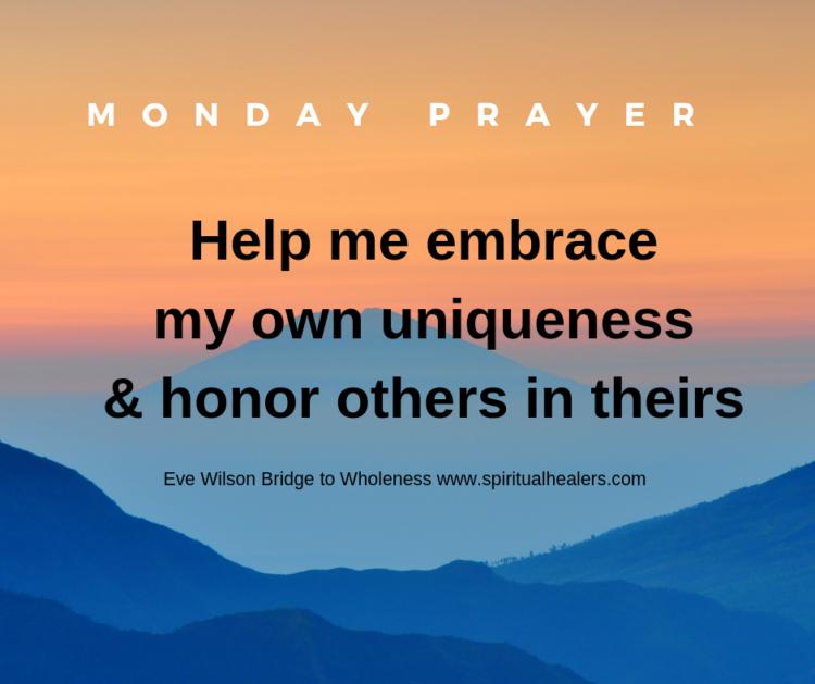 Monday Prayer w-link