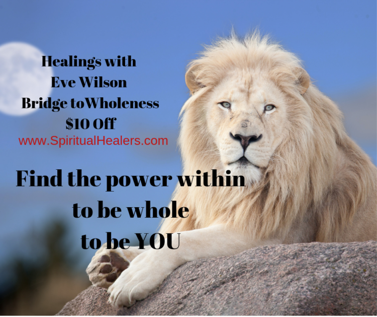 Find the power within to be whole to be YOU