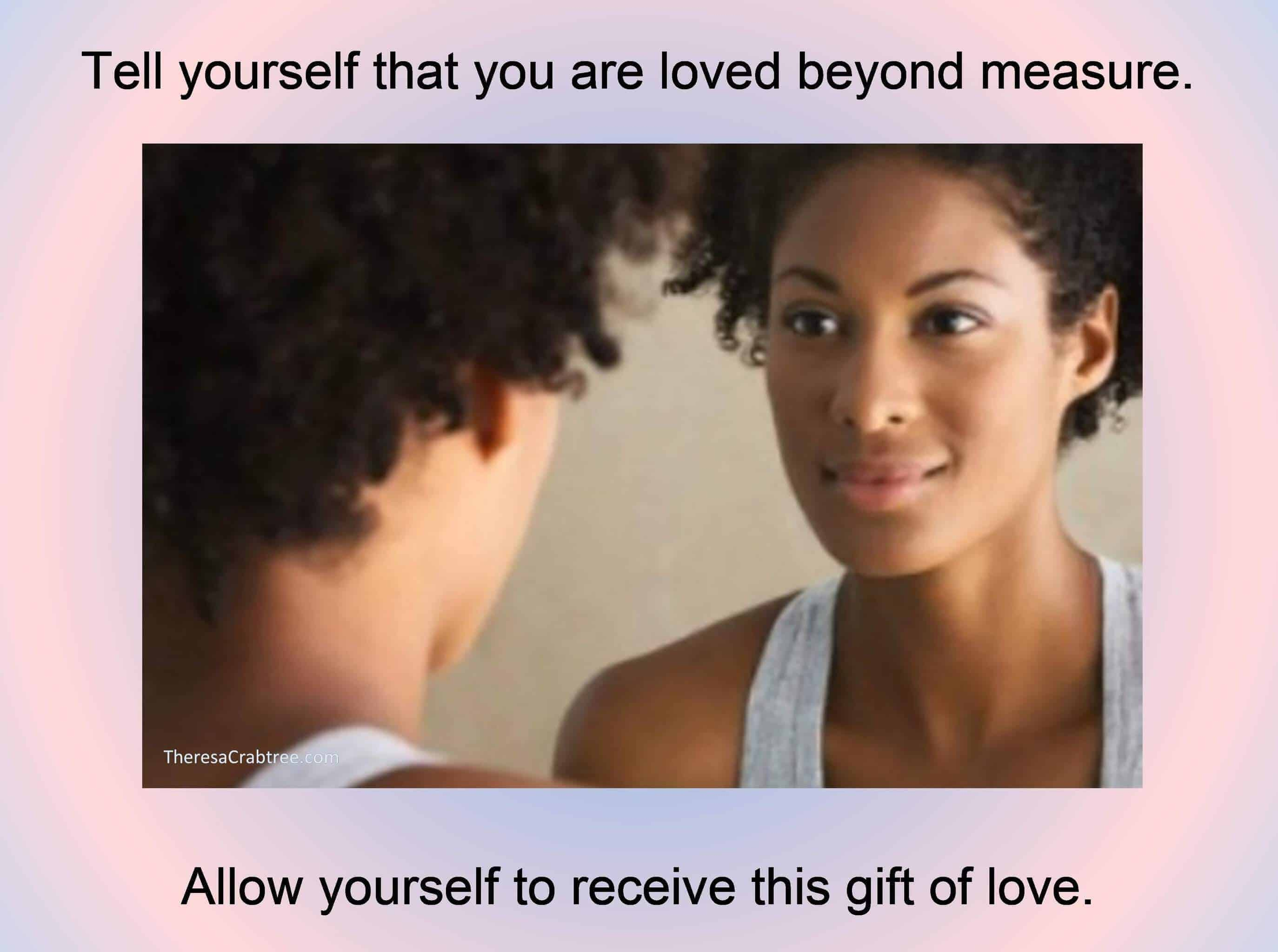 SOUL CONNECTION 141 ~ MIRROR MEDITATION Before beginning the mirror meditation, get into a comfortab