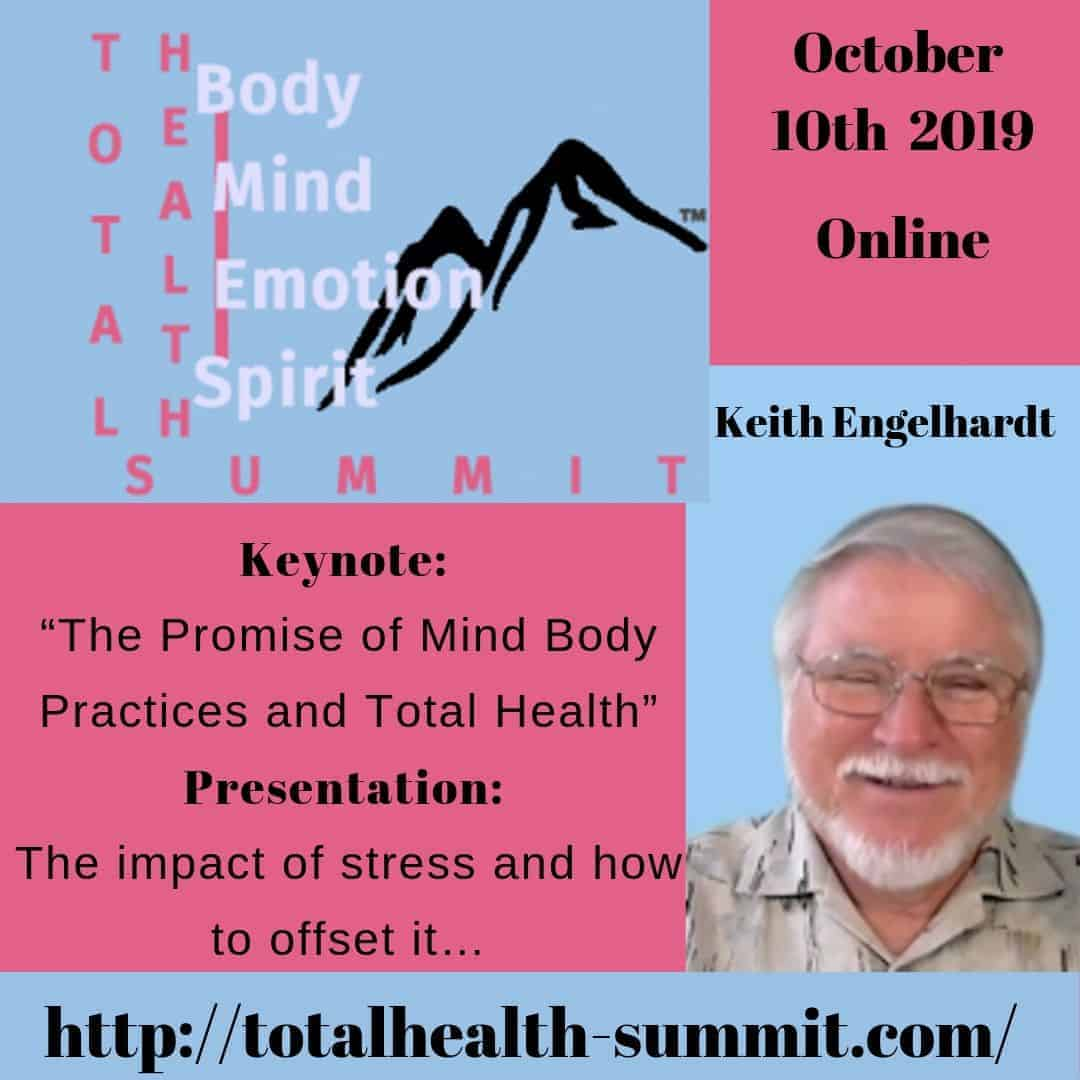 """Join me and 17 other health and wellness professionals to experience """"Total Health"""" by balancing"""