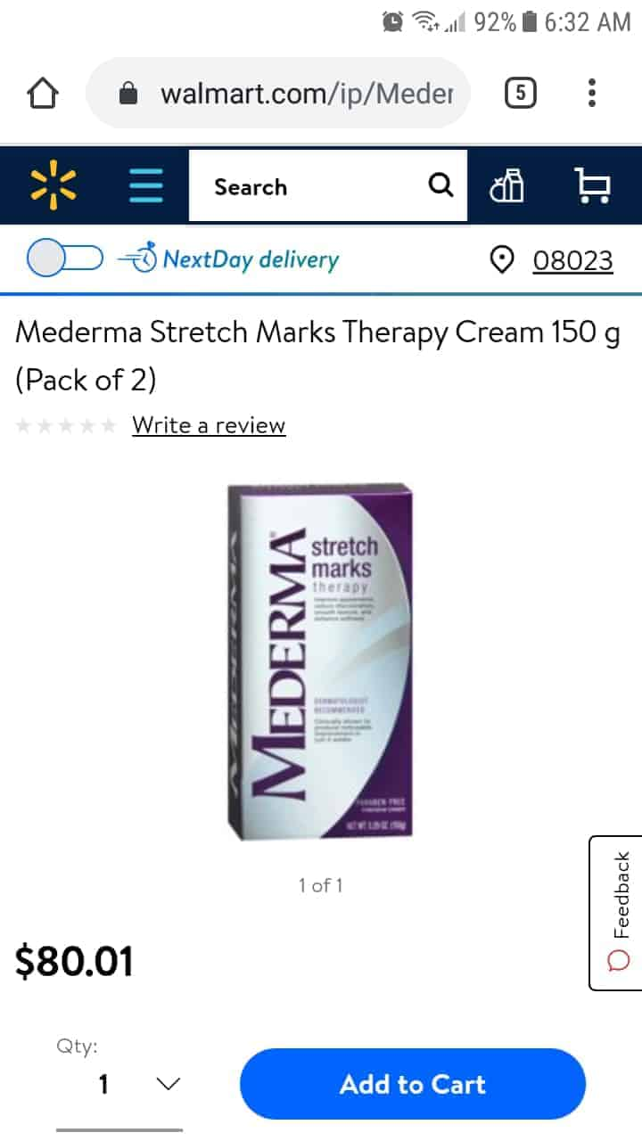 When my sister got pregnant with her first, my niece, the doctor prescribed cream to help with stret
