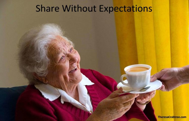 SOUL CONNECTION 171 ~ SHARE WITHOUT EXPECTATIONS When you share without expectations, then you are s