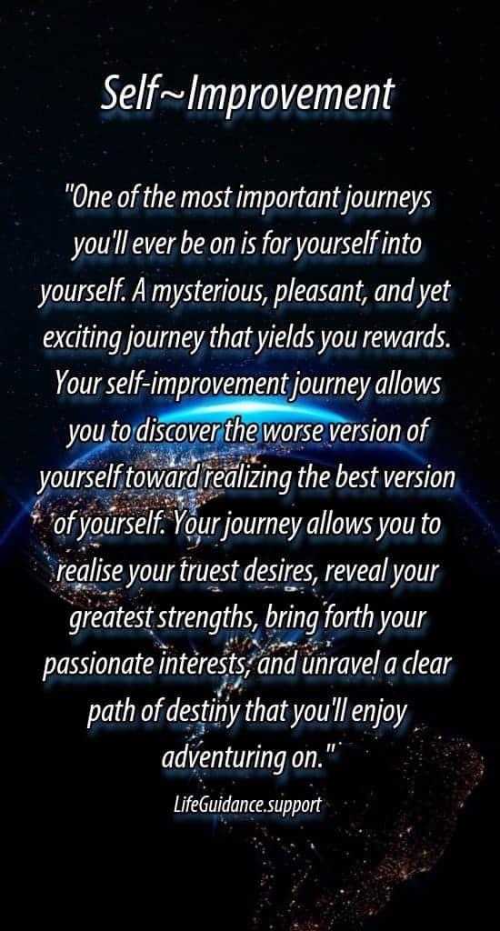 Self Help Friday~ 11/08/19 Today, I am reminding you to move forward with a better quality self vers