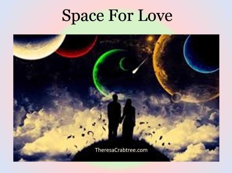 SPACE FOR LOVE Create a space for love within yourself. As a result, you will attract high quality r