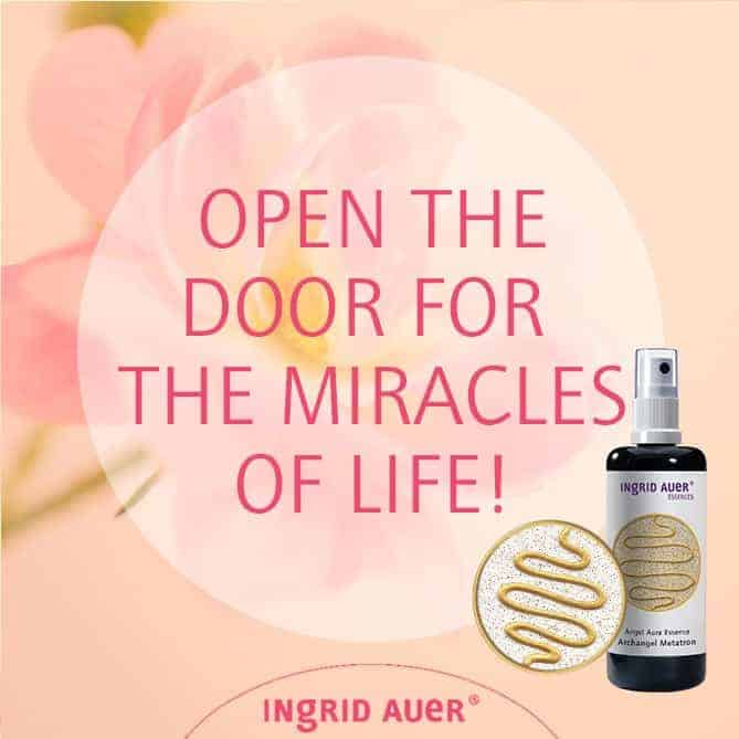 OPEN THE DOOR FOR THE MIRACLES OF LIFE! In our high-tech world, we have discarded our belief in mira