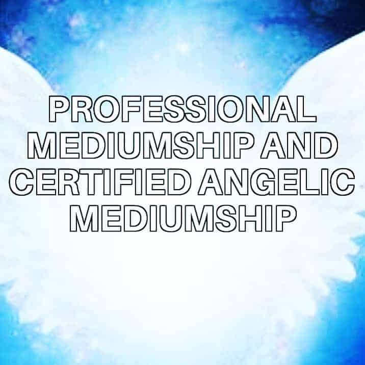 After Increasingly receiving verifiable messages From beyond , I decided to study mediumship and how