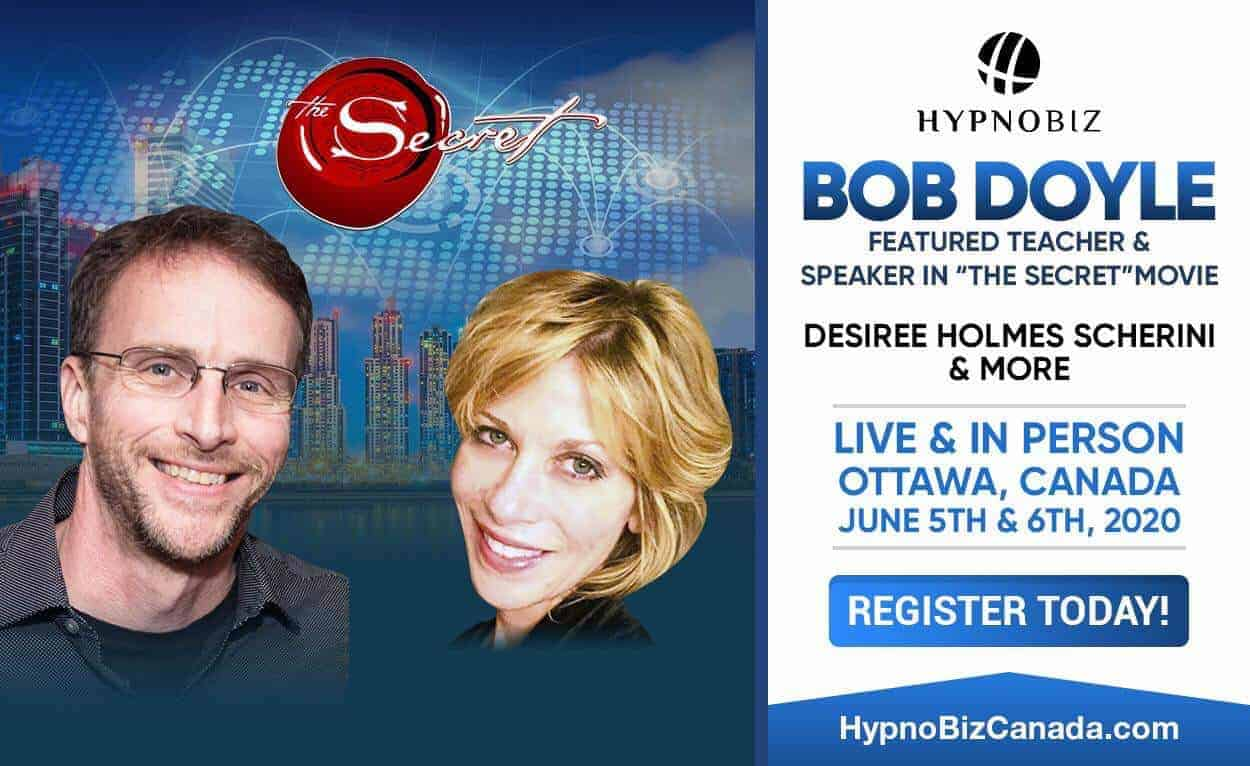Join me in Ottawa, Canada! June 5-7 2020 I will Present at HypnoBiz Canada! Just announced! Our Keyn